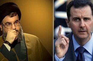 حسن نصرالله و بشار اسد