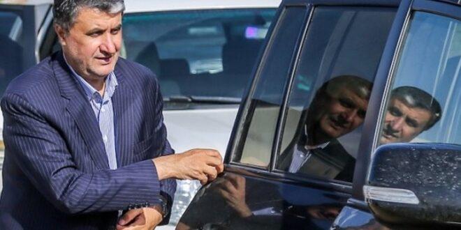 محمد اسلامی وزیر مسکن و راه و شهرسازی دولت روحانی و رییس جدید سازمان انرژی اتمی