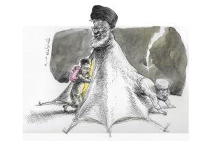خیمه ی انقلاب طرح از توکا نیستانی