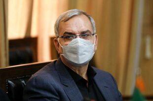 بهرام عین اللهی وزیر بهداشت